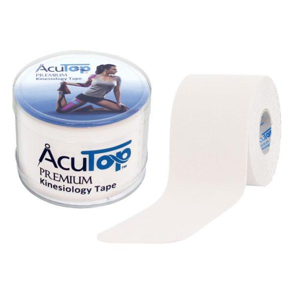 ACUTOP Premium Kineziológiai Tapasz / Szalag 5 cm x 5 m Fehér