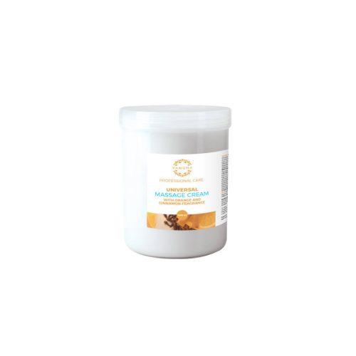 YAMUNA Zsíros masszázskrém narancs-fahéj illattal 1000 ml