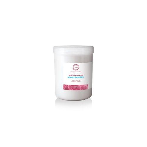 YAMUNA Szőlőmagolajos masszázskrém 1000 ml
