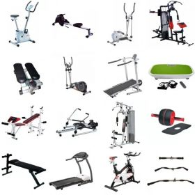 Edzőgépek, Edzőpadok és Kiegészítőik