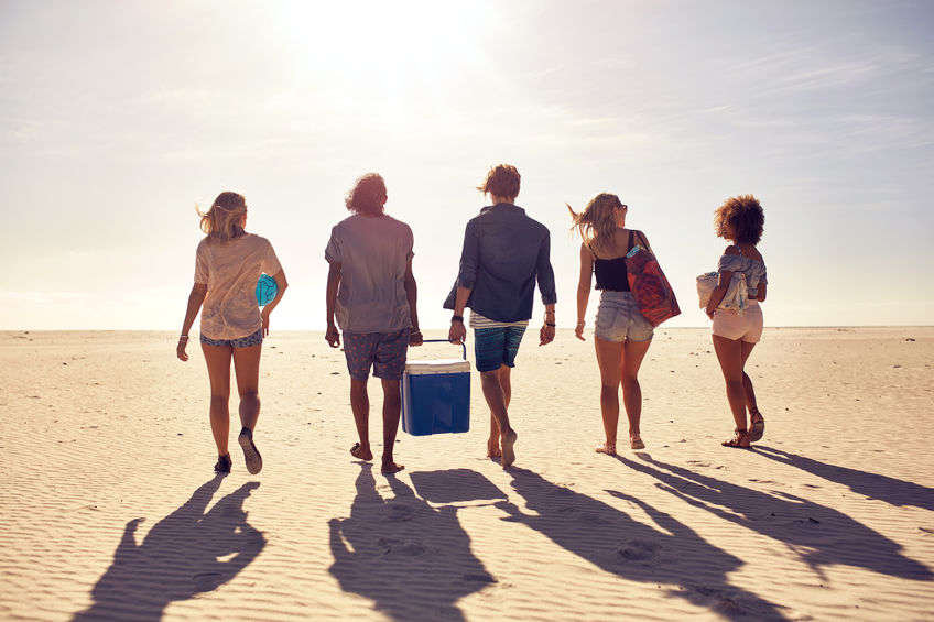 Hűtőláda, nyaralás
