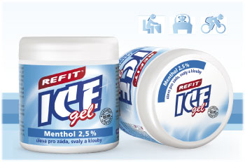 REFIT ICE GEL MENTOL 2,5%